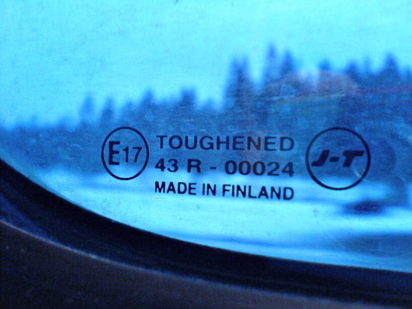 Toughened. Made in Finland.